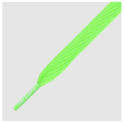 Mr. Lacy Flatties Neon Green plat 130 cm