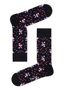 Happy Socks Pink Panter - zwart roze - maat 36-40 en 41-46