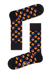 Happy Socks - Sunset - zwart - Maat 36-40 en 41-46