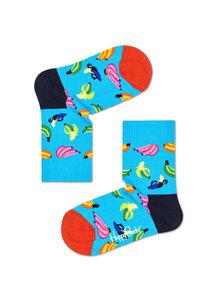Happy Socks KIDS - bananen sokken