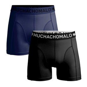 Microfiber blauw/zwart Muchachomalo