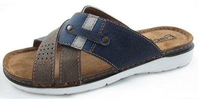 Fischer slippers blauw