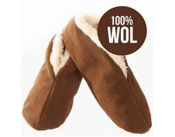 spaanse sloffen wol mokka