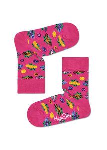 Happy Socks KIDS cranberry- 0-12 en 12-24 maanden