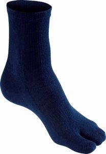 Hallux Valgus sokken blauw