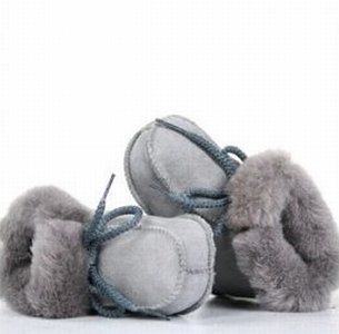Baby sloffen grijs bernardino