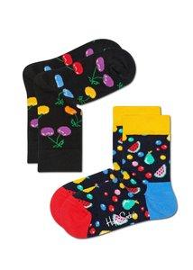 Happy Socks KIDS Kersen en fruit - 0-12 en 12-24 maanden en 2-3 en 4-6 en 7-9 jaar