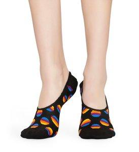 Happy Socks Liner sunset Kousevoetje - zwart multi - Maat 36-40