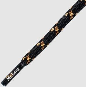 Mr. Lacy Hikies zwart/bruin/lichtbruin rond 120 cm
