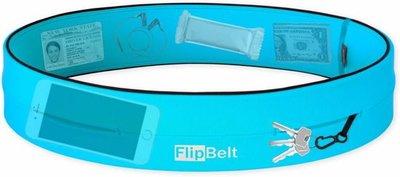 Flipbelt - Running belt - Hardloop belt - Hardloop riem - Aqua