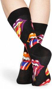 Happy Socks Collabs Rolling Stones Out Of Control Sock zwart Maat 36-40 en 41-46