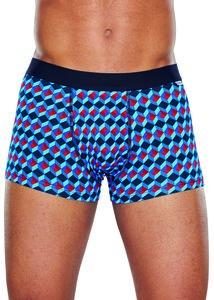 Happy Socks heren underwear Optic rood blauw