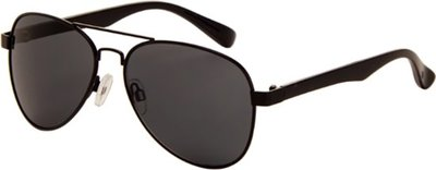 Polarizing pilots sunglasses black and grey Lenses