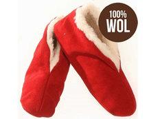 spaanse sloffen wol rood