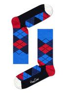 Happy Socks Argyl blauw rood wit 36-40 en 41-46